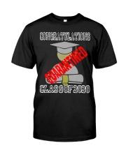 Class of 2020 Graduating Class in Quarantine Premium Fit Mens Tee thumbnail