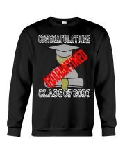 Class of 2020 Graduating Class in Quarantine Crewneck Sweatshirt thumbnail