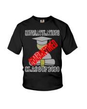 Class of 2020 Graduating Class in Quarantine Youth T-Shirt thumbnail