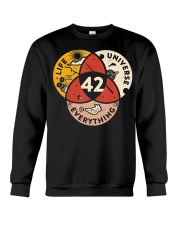 42 Answer to Life Universe and Everything T-Shirt Crewneck Sweatshirt thumbnail