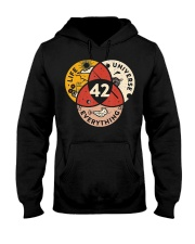 42 Answer to Life Universe and Everything T-Shirt Hooded Sweatshirt front