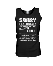 Sorry I Am Already Taken By A Sexy And Crazy Girl Unisex Tank thumbnail