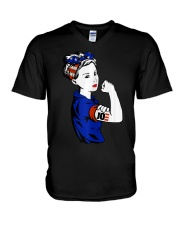 Womens Joe Biden Shirt Women Unbreakable Biden V-Neck T-Shirt thumbnail