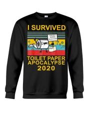 I Survived Toilet Paper Apocalypse 2020 T-Shirt Crewneck Sweatshirt thumbnail