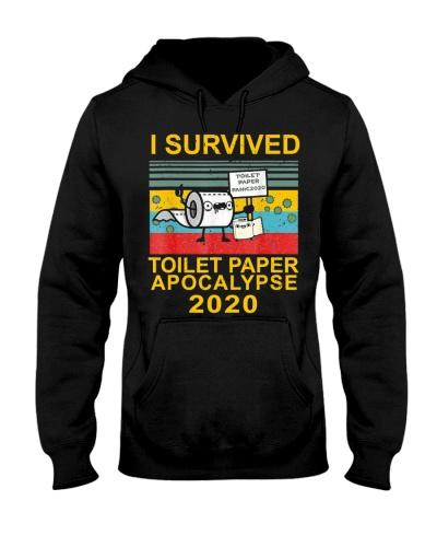 I Survived Toilet Paper Apocalypse 2020 T-Shirt