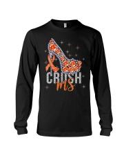 High Heels Crush Ms Multiple Sclerosis Awareness Long Sleeve Tee thumbnail