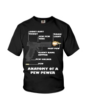 Anatomy Of A Pew Pewer T-Shirt Youth T-Shirt thumbnail
