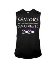 Class Of 2020 Graduation Senior Funny Quarantine Sleeveless Tee thumbnail