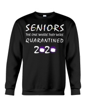 Class Of 2020 Graduation Senior Funny Quarantine Crewneck Sweatshirt thumbnail
