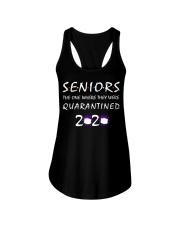 Class Of 2020 Graduation Senior Funny Quarantine Ladies Flowy Tank thumbnail