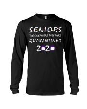 Class Of 2020 Graduation Senior Funny Quarantine Long Sleeve Tee thumbnail