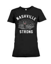 Nashville strong T-Shirt Premium Fit Ladies Tee thumbnail