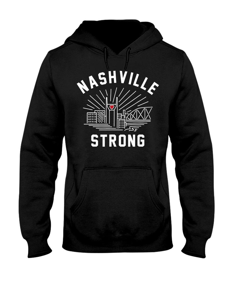 Nashville strong T-Shirt Hooded Sweatshirt