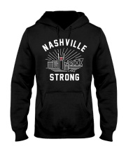 Nashville strong T-Shirt Hooded Sweatshirt front