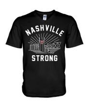 Nashville strong T-Shirt V-Neck T-Shirt thumbnail