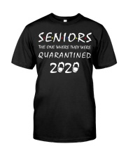 Seniors The One Where They Were Quarantined 2020 Premium Fit Mens Tee thumbnail