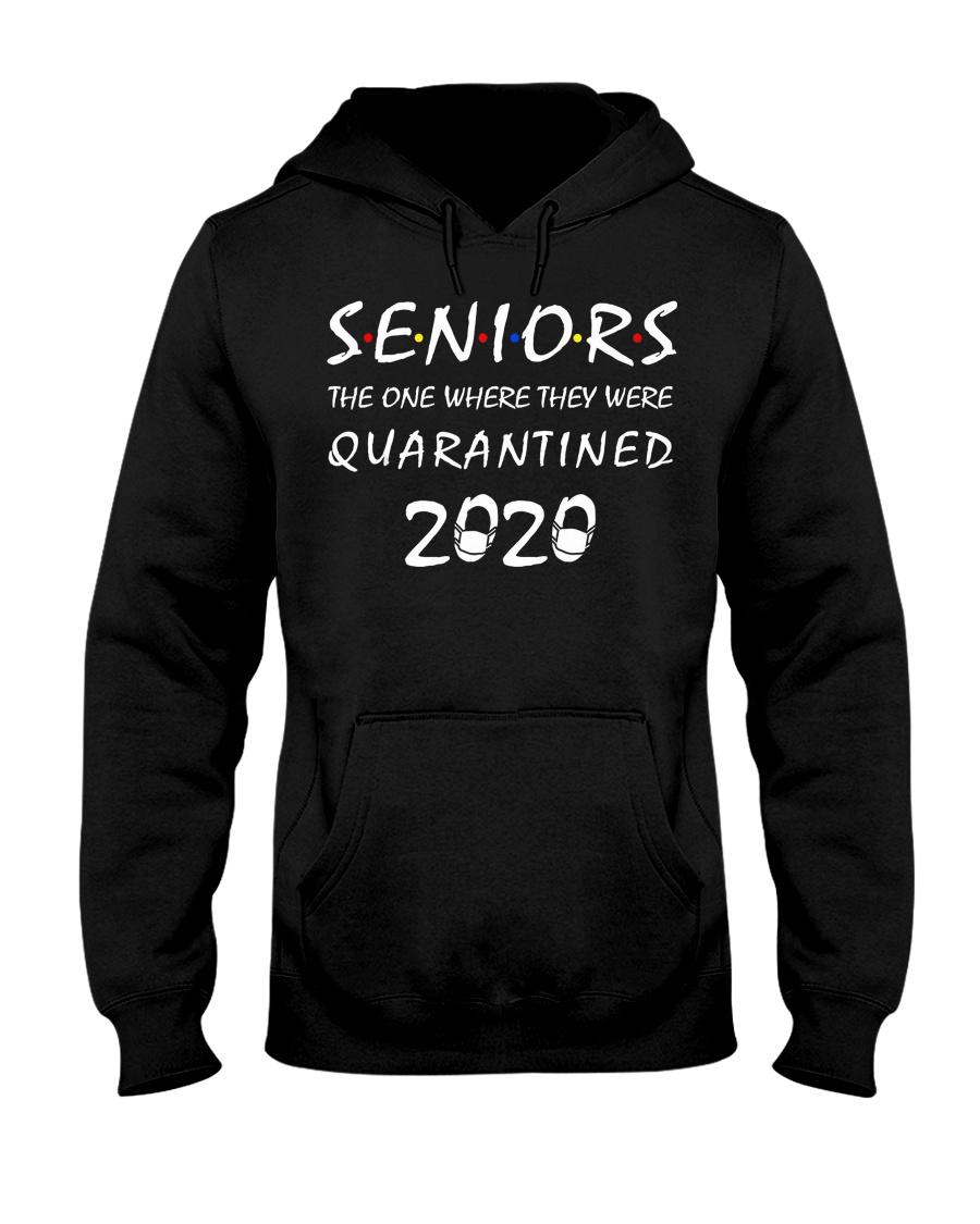 Seniors The One Where They Were Quarantined 2020 Hooded Sweatshirt
