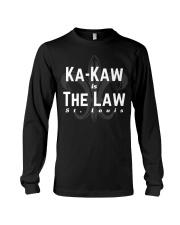 BattleHawks Football St Louis XFL Ka-Kaw is Law Long Sleeve Tee thumbnail