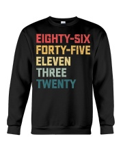 Eighty-Six Forty-Five Eleven Three Twenty Vintage Crewneck Sweatshirt thumbnail