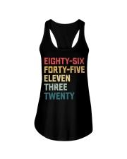 Eighty-Six Forty-Five Eleven Three Twenty Vintage Ladies Flowy Tank thumbnail