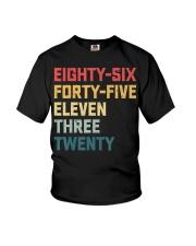 Eighty-Six Forty-Five Eleven Three Twenty Vintage Youth T-Shirt thumbnail