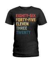 Eighty-Six Forty-Five Eleven Three Twenty Vintage Ladies T-Shirt thumbnail