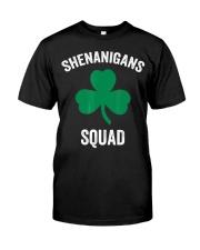 Shenanigans Squad Funny St Patricks Day Matching Classic T-Shirt thumbnail