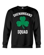 Shenanigans Squad Funny St Patricks Day Matching Crewneck Sweatshirt thumbnail