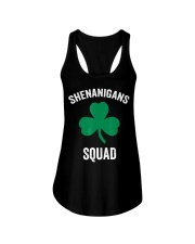 Shenanigans Squad Funny St Patricks Day Matching Ladies Flowy Tank thumbnail
