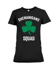 Shenanigans Squad Funny St Patricks Day Matching Premium Fit Ladies Tee thumbnail