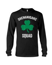 Shenanigans Squad Funny St Patricks Day Matching Long Sleeve Tee thumbnail