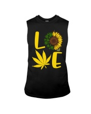 Love Weed Sunflower Love Cannabis Pullover Hoodie Sleeveless Tee thumbnail