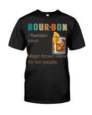 Bourbon Definition Magic Brown Water Vintage Premium Fit Mens Tee tile