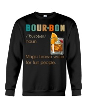 Bourbon Definition Magic Brown Water Vintage Crewneck Sweatshirt tile