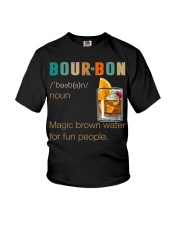 Bourbon Definition Magic Brown Water Vintage Youth T-Shirt thumbnail