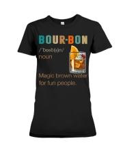 Bourbon Definition Magic Brown Water Vintage Premium Fit Ladies Tee thumbnail