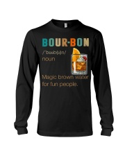 Bourbon Definition Magic Brown Water Vintage Long Sleeve Tee thumbnail
