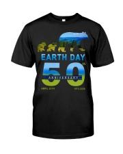 Earth Day 50th Anniversary 2020 Bear T-Shirt Classic T-Shirt thumbnail
