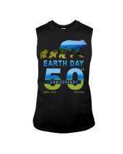 Earth Day 50th Anniversary 2020 Bear T-Shirt Sleeveless Tee thumbnail