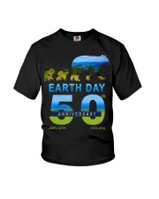 Earth Day 50th Anniversary 2020 Bear T-Shirt Youth T-Shirt tile