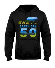 Earth Day 50th Anniversary 2020 Bear T-Shirt Hooded Sweatshirt front