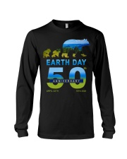 Earth Day 50th Anniversary 2020 Bear T-Shirt Long Sleeve Tee thumbnail