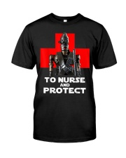 To Nurse and Protect T-Shirt Premium Fit Mens Tee thumbnail