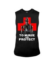 To Nurse and Protect T-Shirt Sleeveless Tee thumbnail