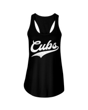 Cubs Vintage Wildlife Script T-Shirt Ladies Flowy Tank thumbnail