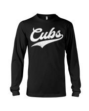 Cubs Vintage Wildlife Script T-Shirt Long Sleeve Tee thumbnail