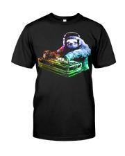 DJ Sloth by ROBOTFACE T-Shirt Classic T-Shirt thumbnail