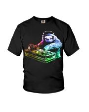 DJ Sloth by ROBOTFACE T-Shirt Youth T-Shirt thumbnail