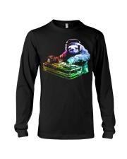 DJ Sloth by ROBOTFACE T-Shirt Long Sleeve Tee thumbnail