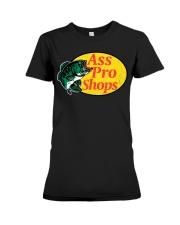 Ass Pro Shop Parody Funny Sarcastic Hilariou Premium Fit Ladies Tee thumbnail